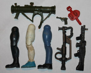 1985 Coleco Rambo Original Weapon Part Lot #4