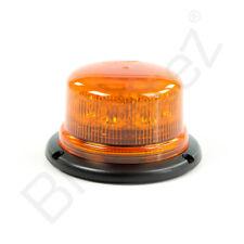 Amber LED Beacon B16, Safety Warning Light, Recovery Breakdown Trucks, 4x4, Van