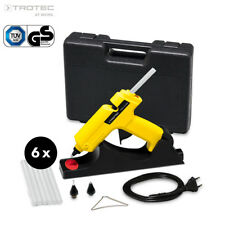 TROTEC Heißklebepistole PGGS 10-230V | Heissklebepistole Heißkleber Set kabellos
