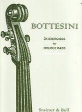 BOTTESINI 24 EXERCISES Double Bass