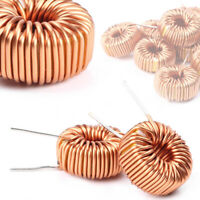 10pcs Toroid Cores Common Mode Inductors Wire Wind Wound Coil 100uH 6A st