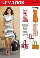 New Look U06095A Misses Dresses Sewing Pattern, New, Free Shipping