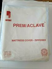 Heavy Duty Premium Vinyl Zip Mattress Cover Protector Waterproof Twin Size Bed