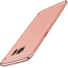 Handy Hülle Schutz Case für Samsung Galaxy A5 2017 Bumper 3 in 1 Cover Rose Gold