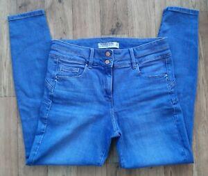 Ladies NEXT Skinny Lift Slim & Shape jeans size 16 R waist 34 leg 30
