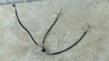 98 Laverda ZLV 650 SP 668 ZLV650 front brake lines hoses