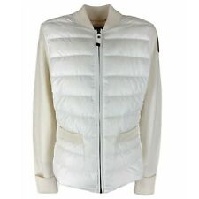 A05 piumino 100 grammi donna PARAJUMPERS off white double fabric jacket women