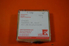 """Laser Components Planefenster, BK7, Keil<5´ DM.1"""", 1mm dick. 3/1,5/4x0,025"""
