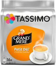 80 Dosettes Tassimo 5 Pack de 16 Tdisc Grand'Mère Petit Déj Tasse Café Déjeuner