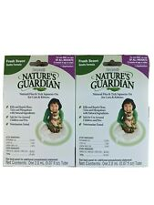 Fleas Ticks Squeeze-On Control 2 Monthly Pack Nature's Guardian Cats Kitten Safe