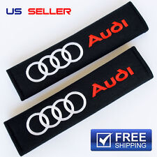 AUDI SHOULDER PADS SEAT BELT 2PC SEATBELT A2 A3 A4 S3 S4 S5 S6 S7 TT RS4 R8 SP03