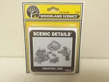 Assorted Industrial Junk Model Railroad kit Woodland Scenics D225 Mini-Scene