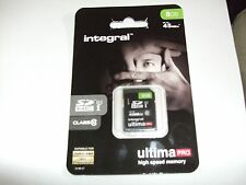 New 8GB Integral Ultima Pro High Speed Memory Card Up To 45 MB/s Sale