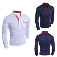 New Fashion Mens Luxury Business Stylish Slim Fit Long Sleeve Casual Dress Shirt