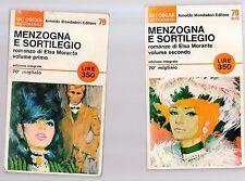 menzogna e sortilegio - elsa morante - 2 volumi - novtrga