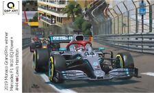Coffee mug 2019 Monaco GP winner Mercedes W10 #44 Lewis Hamilton, Toon Nagtegaal