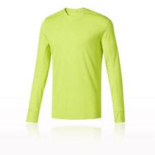 Abbiglimento sportivo da uomo gialli manica lunghi da corsi