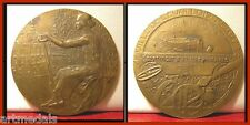 1931 ART DECO MEDAL WOMAN WITH HAMMER INSTRUCTION