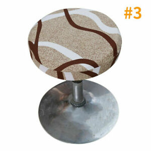3PCS Bar Stool Cover Round Seat Slipcover  Seat Protector Lift Chair Covers