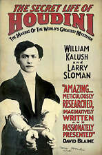The Secret Life of Houdini...WILLIAM KALUSH & LARRY SLOMAN...VGC