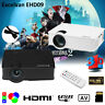 7000 LUMENS 3D FULL 1080P HD HOME MOVIE THEATER MULTIMEDIA USB LCD/LED PROJECTOR