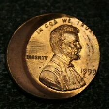 US Small Cent OFF center Double partial profil  Error , 1999