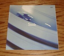 Original 2000 Saab Full Line Foldout Sales Brochure 00 9-5 9-3