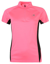Karrimor Running Zipped Short Slaved T shirt Ladies Size 16