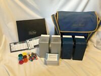 Vtg Trivial Pursuit Board Game GENUS MASH SILVER SCREEN with Carry Travel Case