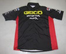 '13 GEICO HONDA AMSOIL FACTORY CONNECTION RACING TEAM PIT SHIRT L supercross bdn