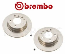 Pair Set of 2 Rear Solid Brake Disc Rotors 280x10mm Brembo For BMW E36 3-Series