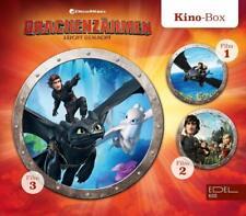 DRACHENZÄHMEN LEICHT GEMACHT KINO-BOX (1-3) HÖRSPIELE  3 CD NEU