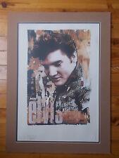 "Lithographie Gered Mankowitz "" Elvis Presley"" , numérotée et estampillée"