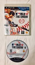 MLB 12: THE SHOW --- PLAYSTATION 3 PS3