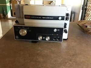Eumig Mark S 810 D- 810 D Lux Projector with Speaker and Splicer Kit