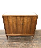 Mid Century Modern furniture credenza Cabinet, Lewis Butler For Knoll