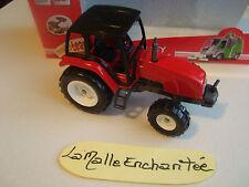 majorette tracteur  ref 3012 ech 1/43° neuf en boite serie utility vehicles