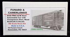 LMH Funaro F&C 8440 PENNSYLVANIA X37B Automobile Auto Boxcar PRR Youngstown Door