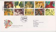 GB Royal mail FDC 1995 Saluti in arte Set Amante PMK