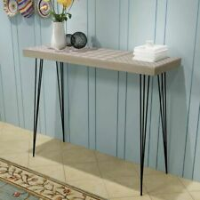vidaXL Console Table Side Table Telephone Stand Sideboard 90x30x71.5 cm Grey