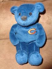 Bear NFL Chicago Bears Football 2000 Salvinos Bammers Plush Bean Bag Blue Orange