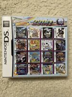 NDS 23 in 1 Game Cartridge Pokemon Multicart for DS Lite NDSi 3DS 2DS XL