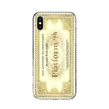 Coque Silicone Iphone 5 6 7 8 X Xr Xs 11 Pro Max SE Platform 9 3/4 Harry Potter