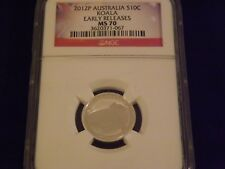 2012-P   Koala   Austrailia   Early Releases    NGC MS 70
