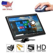 "10.1"" Monitor HD TFT LCD TV & PC Screen AV/RCA/VGA/HDMI Input for Home Security"