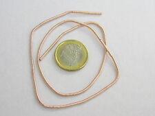 1 filo canutiglia ramata grossa di 1,5 mm foro interno 1 circa lungo 40 cm