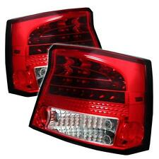 Tail Lights Dodge Charger 2006-2008 LED - Red Clear