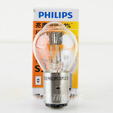 Philips S2 BA20d 35/35W 12V ATV Scooter Moped Headlight Bulb 30% Brighter!