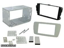 Seat Ibiza 08 on Dublin Grey Double Din Car Stereo Fitting Kit CT23ST08