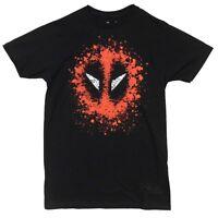 Deadpool Splatter Logo Marvel Comics Premium Licensed Adult T-Shirt